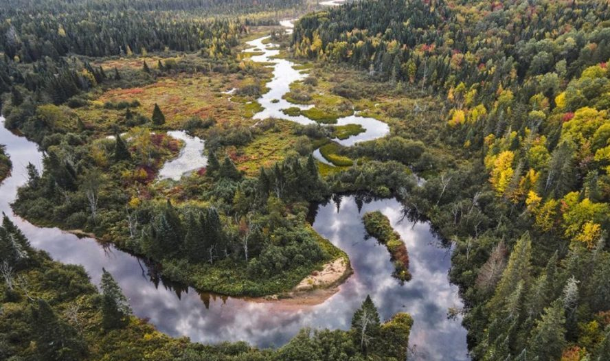 La rivière des Hurons et son bassin versant